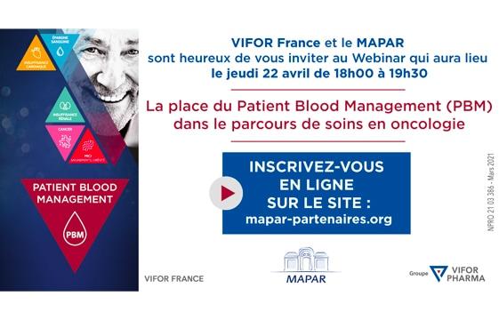 La place du Patient Blood Management (PBM) dans le parcours de soins en oncologie